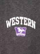 alternate image of Grey Western Mustangs Champion Pants