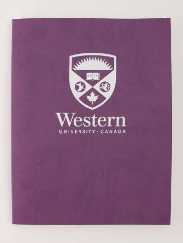 alternate image of Euro Journal Violet with Stacked Logo In White