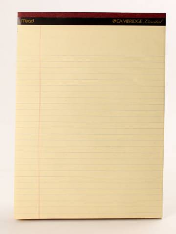 alternate image of Cambridge Ivory Perf Pad 50 Sheets Per Pad