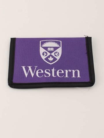 alternate image of Purple Western Bus Pass Holder