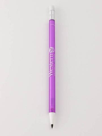 alternate image of Purple .5mm Refillable Western Mech Pencil
