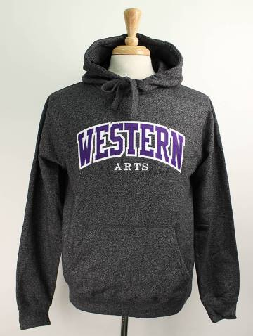 alternate image of Black Salt & Pepper Western Arts Hood