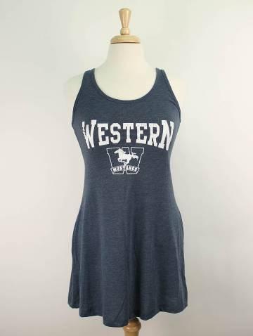 alternate image of Indigo Western Mustang Tank Dress