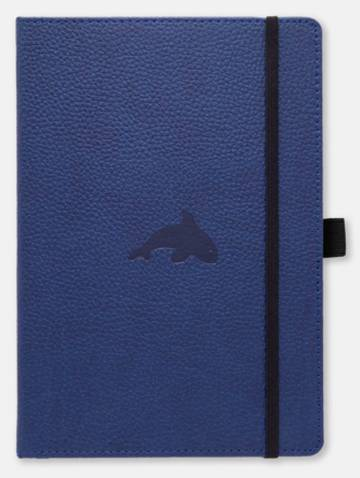 alternate image of Dingbats Wildlife A5+ Blue Whale Notebook Lined