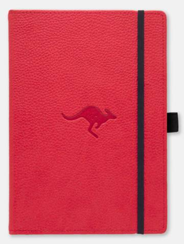 alternate image of Dingbats Wildlife A5+ Red Kangaroo Notebook Plain