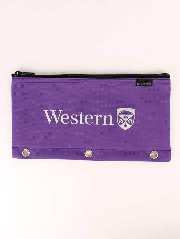 alternate image of Purple Western Pencil Case