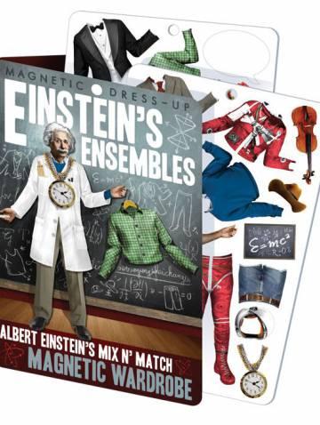 alternate image of Einsteins Ensembles  Magnetic Dress-Up Set