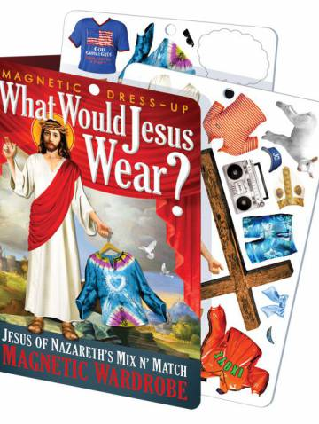 alternate image of What Would Jesus Wear Magnetic Dress-Up Set