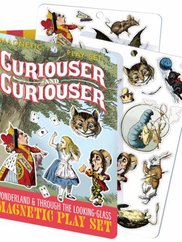 alternate image of Curiouser and Curiouser Magentic Play Set