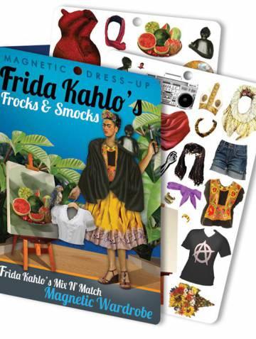 alternate image of Fridas Frocks + Smocks Magnetic Dress Up