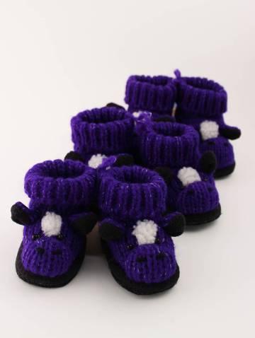 alternate image of Purple Mustang Slippers