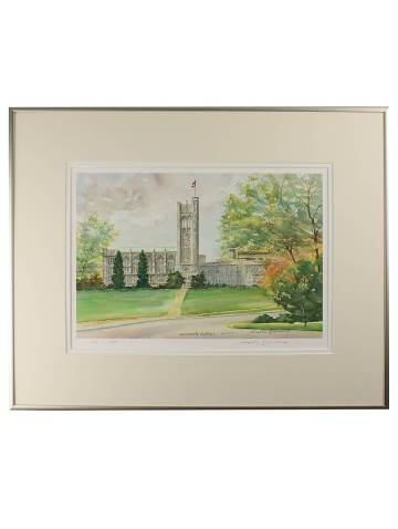 alternate image of University College Framed Print