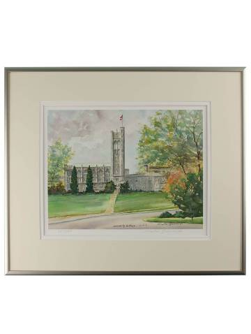 alternate image of University College Framed Print