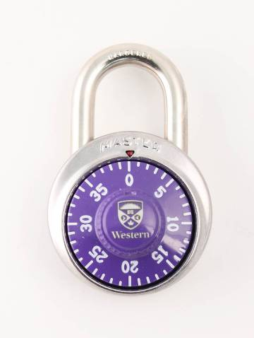 alternate image of Purple Western Combination Lock
