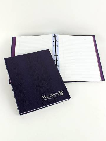 alternate image of Purple Western Miraclebind Noteboook