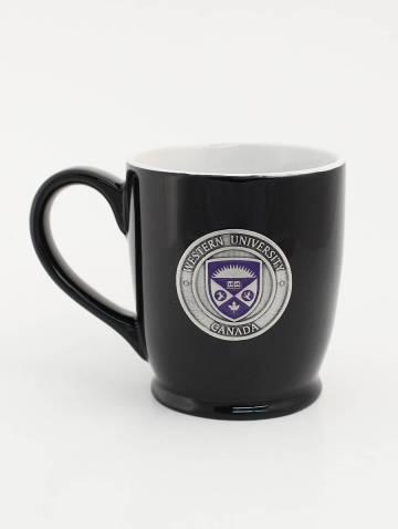 alternate image of Black Western University Mug