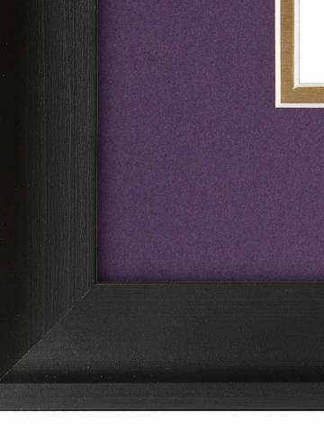 alternate image of Black Covington Horizontal Certificate Frame
