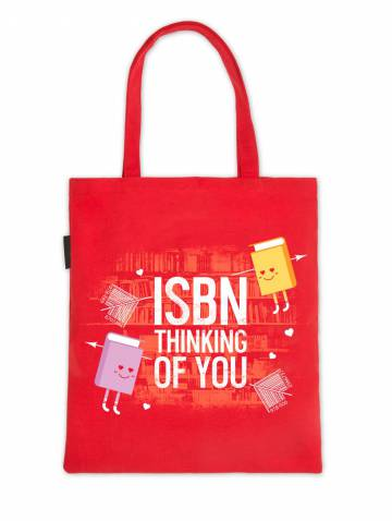 alternate image of ISBN Thinking Of You Tote Bag