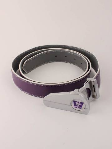 alternate image of Purple/Grey Mustangs Golf Belt