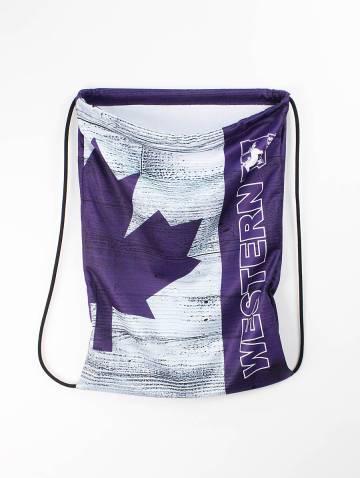 alternate image of Purple Barbarian Drawstring Bag