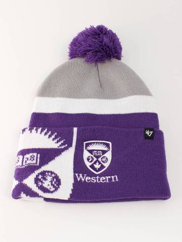 alternate image of Purple Western Toque