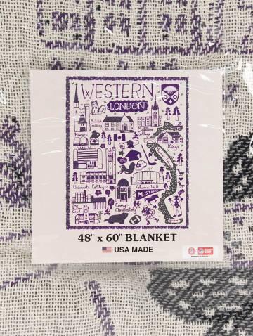 alternate image of Julia Gash Western Tapestry Blanket