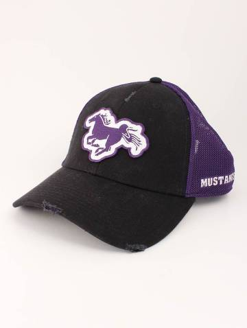 alternate image of Black and Purple Mustang Hat
