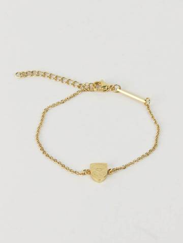 alternate image of Mini Crest Gold Bracelet