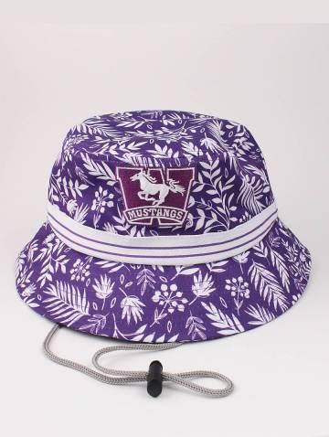 alternate image of Purple Tropical Mustangs Bucket Hat