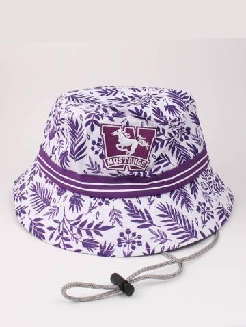 alternate image of White Tropical Mustangs Bucket Hat