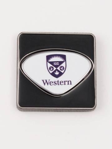 alternate image of Western Crest Square Ball Marker Canadian Leaf