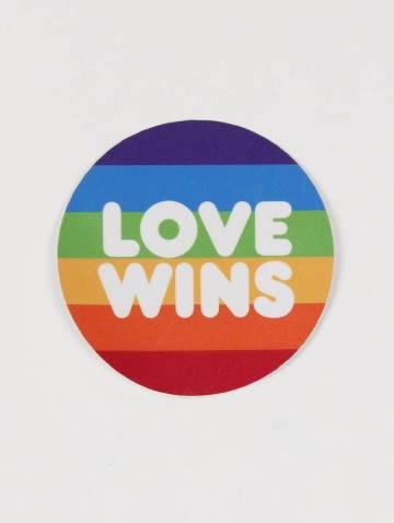 alternate image of Love Wins Sticker