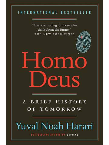 alternate image of Homo Deus