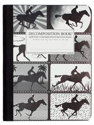 alternate image of Giddyup Decomposition Ruled Book