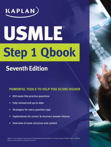 alternate image of Usmle Step 1 Qbook *op