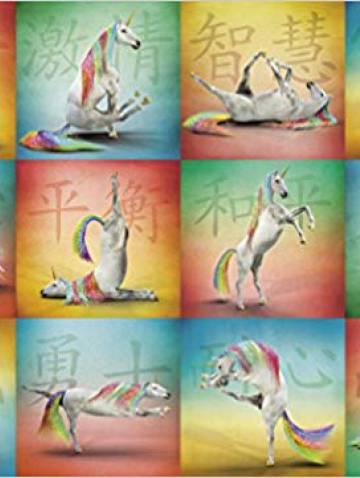 alternate image of Unicorn Yoga Puzzle