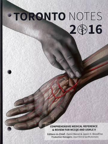 alternate image of Toronto Notes 2016