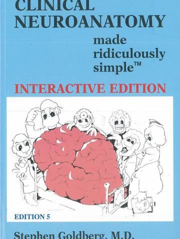 alternate image of Clinical Neuroanatomy Made Ridiculously Simple  Bk+Cd