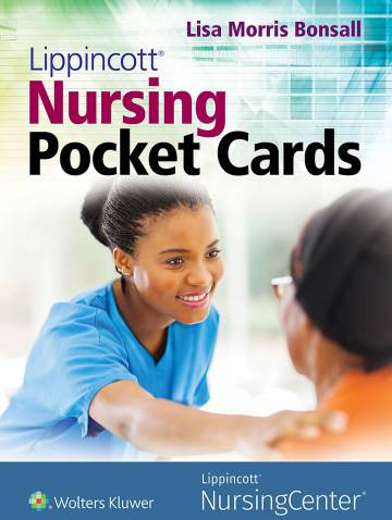alternate image of Lippincott Nursing Pocket Cards  *Damaged*