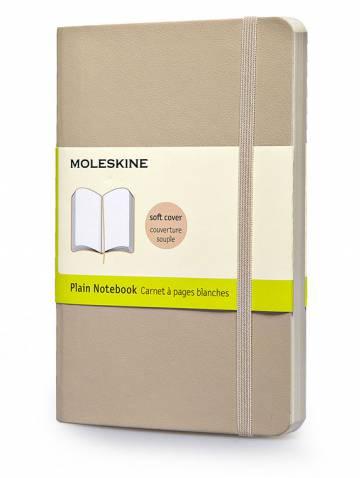 alternate image of Notebook Plain Large Khaki Beige