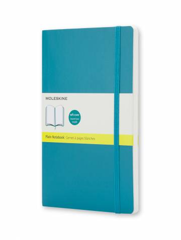 alternate image of Notebook Plain Large Underwater Blue