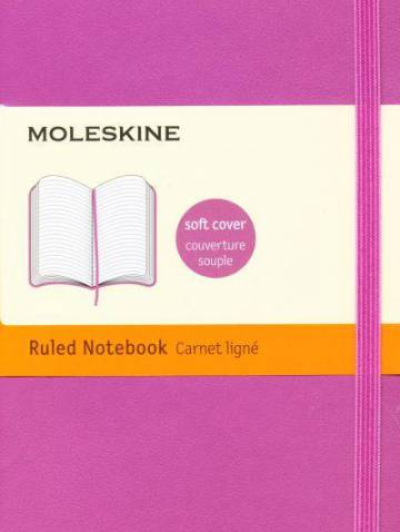 alternate image of Notebook Ruled Pocket Orchid Purple