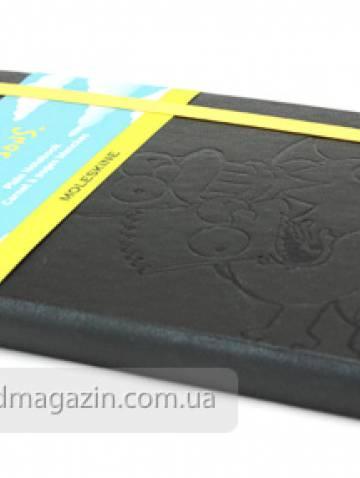 alternate image of Simpsons Plain Notebook Large Black  *op*
