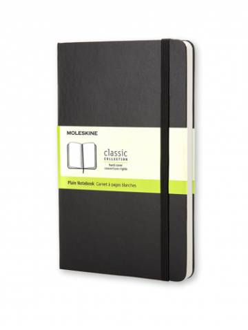 alternate image of Black Pocket Plain Notebook