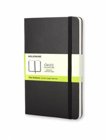 alternate image of Black Large Plain Notebook