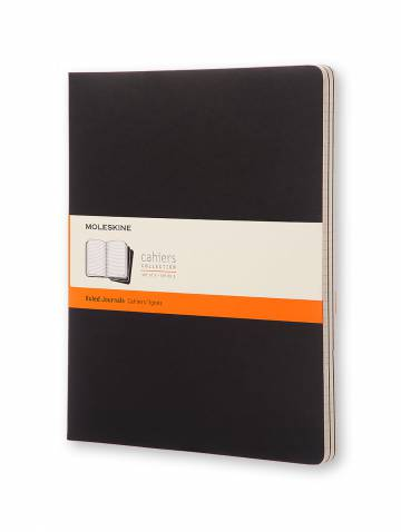 alternate image of Black X-Large Cahier Ruled Notebooks Set Of 3