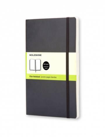 alternate image of Notebook Plain Pocket Black