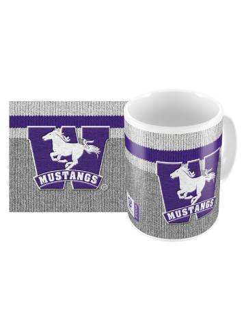 alternate image of Grey Mustangs Sublimated Work Sock Mug