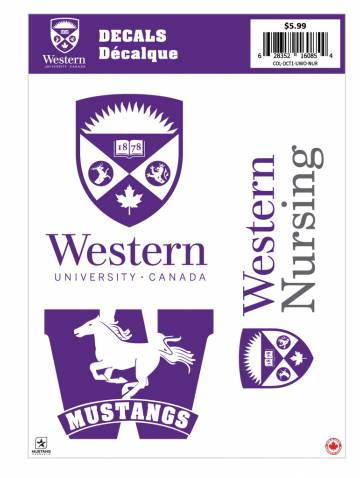 alternate image of Western Nursing Decal Sheet