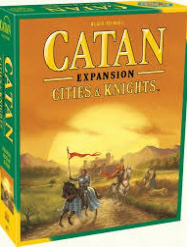 image of Catan  Expansion  Cities + Knights  Cn3077  *Op*